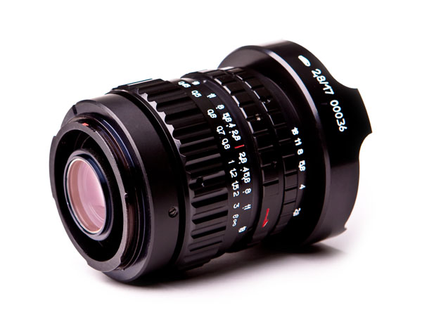 Peleng 17mm f2.8 Fisheye lens